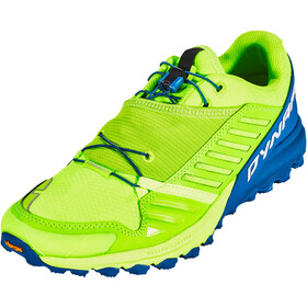 Dynafit Alpine Pro Shoes Herren fluo yellow/mykonos blue